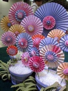 Pleated Flowers