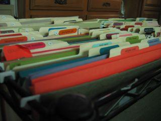 Cardstock Folders