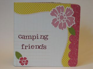 Scrapbook from Board Book Cover
