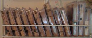 Wood mount rack