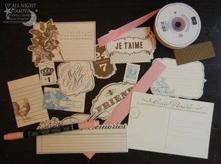 Side Notes Die Cut Accents