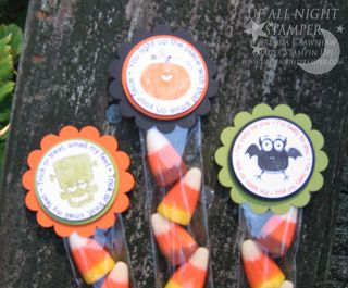 Fabulous Five Minute Candy Packages Up Close