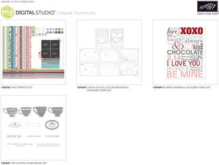New Downloads for My Digital Studio