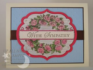 Label Framelit Sympathy Card